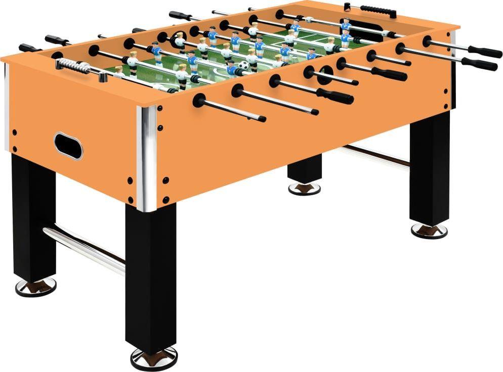 vidaXL Stół do gry w piłkarzyki, stal, 60 kg, 140x74,5x87,5 cm 1