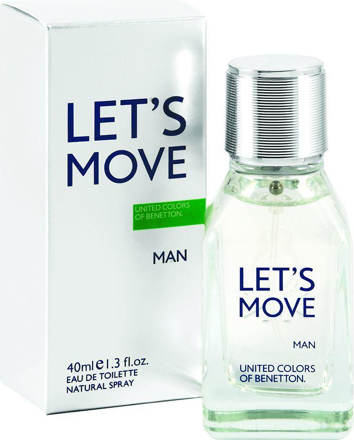 Benetton Let's Move EDT 40ml 1