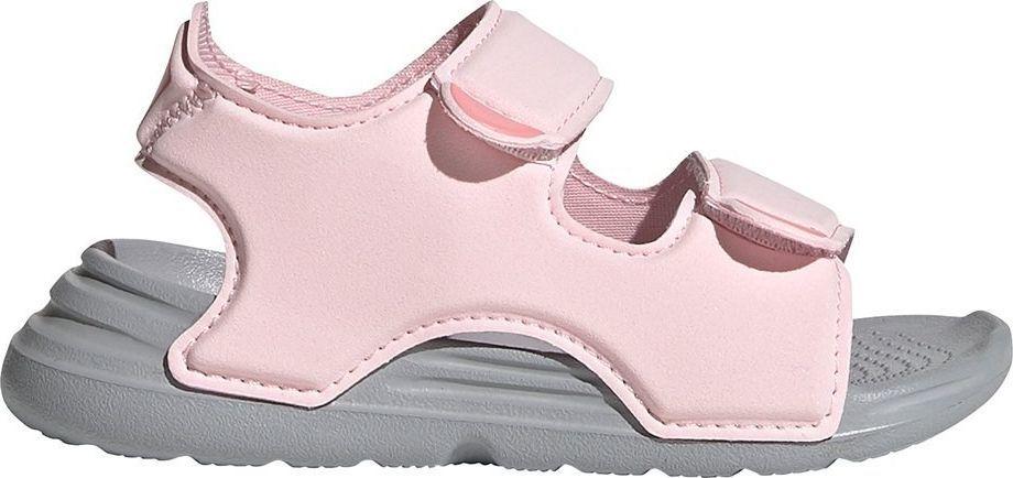 Adidas Sandały dla dzieci Swim I różowe r. 20 1