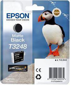 Epson Wkład atramentowy/T3248 (C13T32484010) Black 1