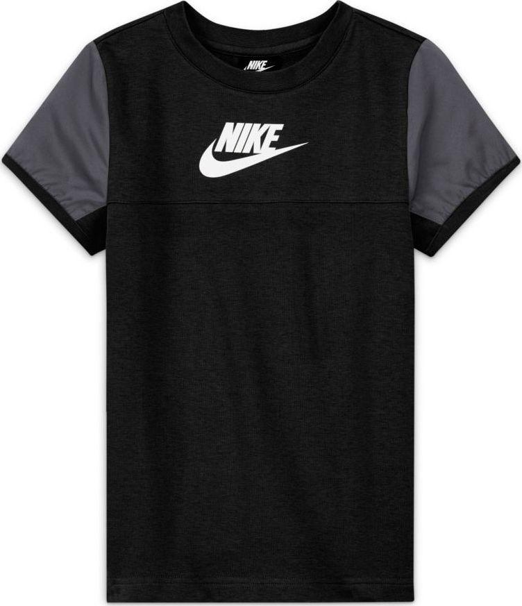 Nike Koszulka Nike Sportswear Mixed Material Big Kids' (Boys') Short-Sleeve Top DA0619 010 DA0619 010 czarny XL 1