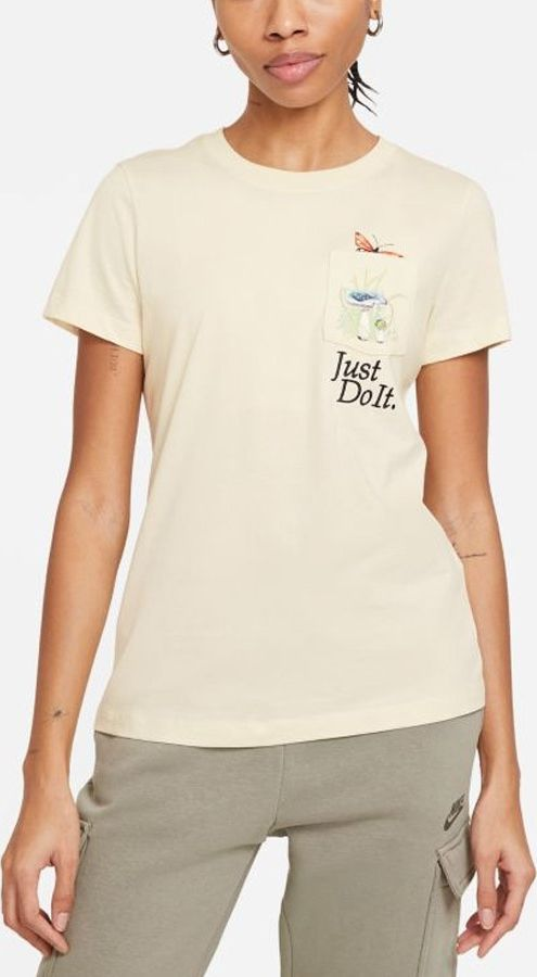 Nike Koszulka Nike Sportswear Women's T-Shirt DD1462 113 DD1462 113 biały S 1
