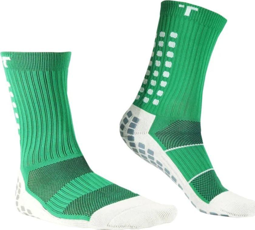 Trusox Skarpety piłkarskie Trusox 3.0 Thin S737543 zielony 39-43,5 1