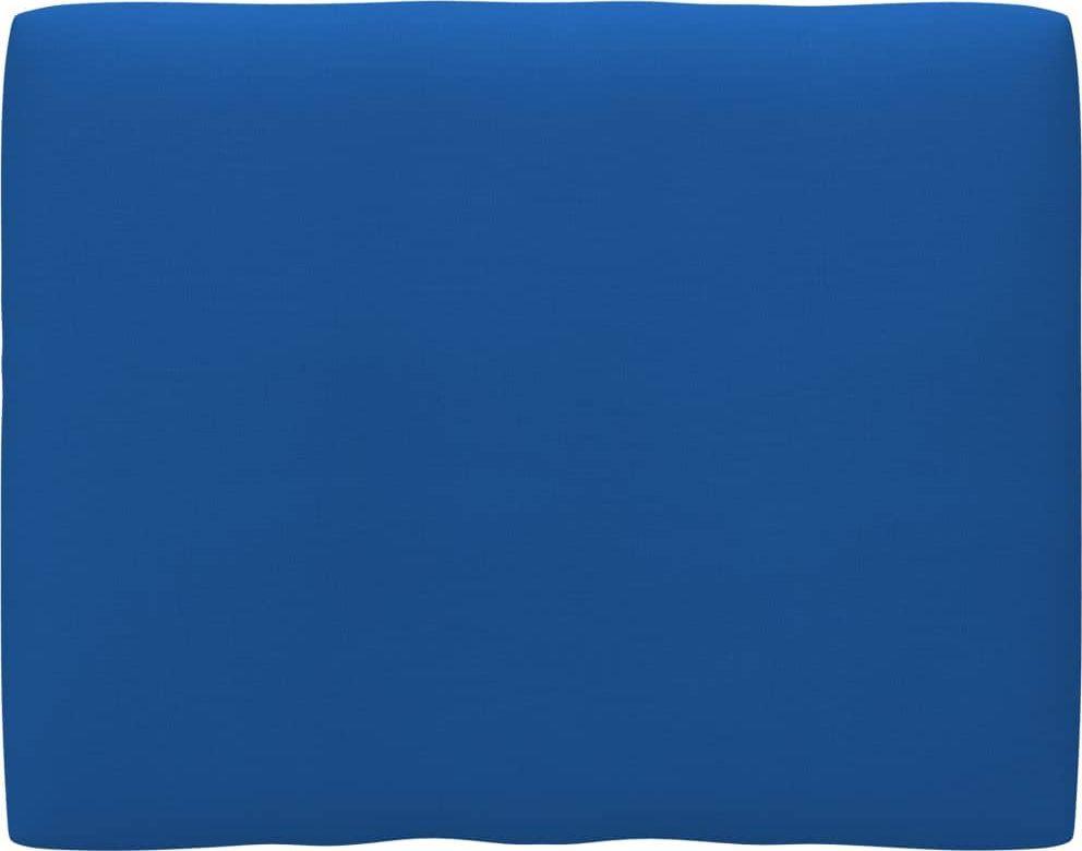 vidaXL Poduszka na sofę z palet, niebieska, 50x40x12 cm 1