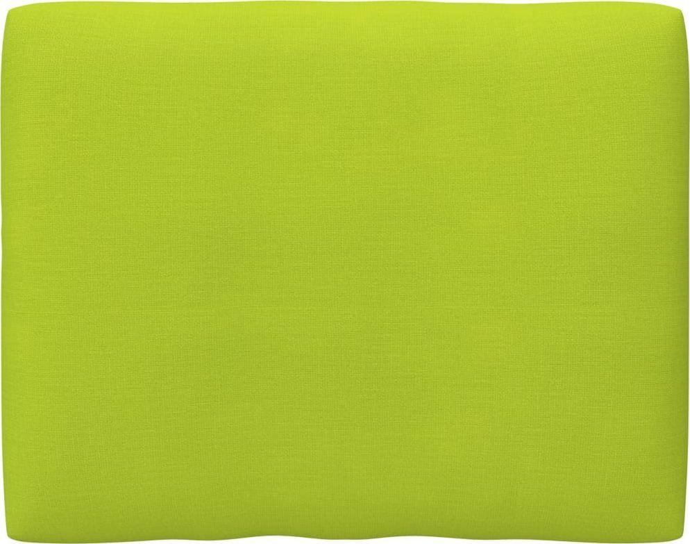 vidaXL Poduszka na sofę z palet, jasnozielona, 50x40x12 cm 1