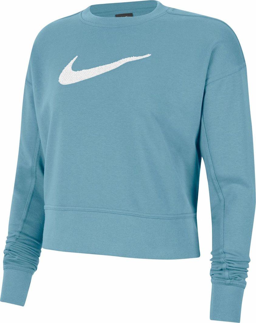 Nike Nike WMNS Get Fit Crew Swoosh bluza 424 : Rozmiar - M 1
