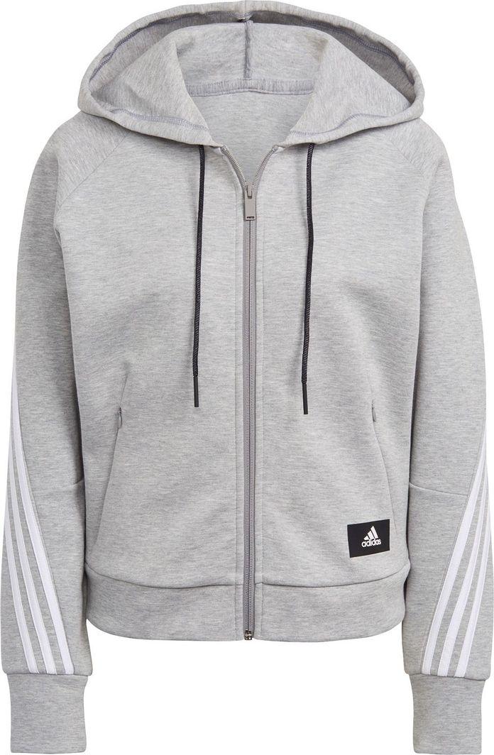 Adidas adidas WMNS Wrapped 3-Stripes bluza 416 : Rozmiar - S 1