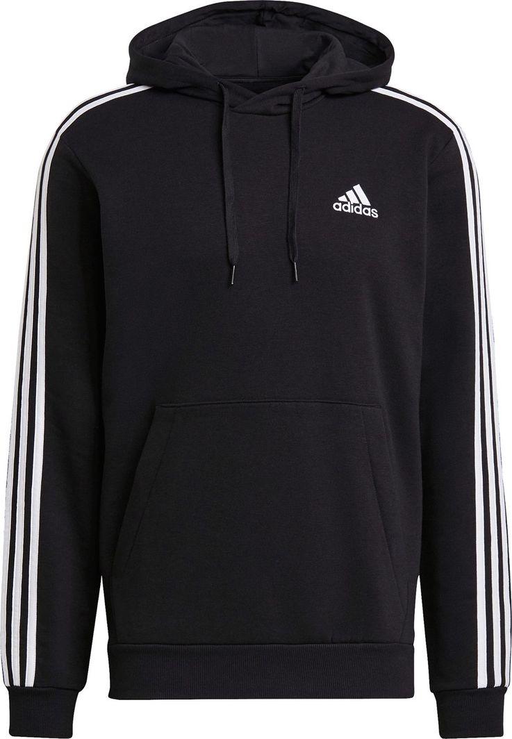 Adidas adidas Essentials Fleece 3-Stripes bluza 072 : Rozmiar - S 1
