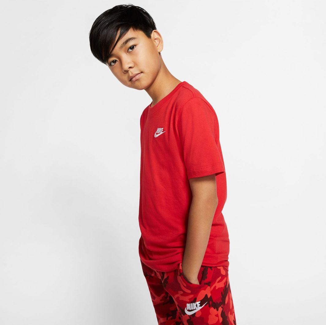 Nike Nike JR NSW Futura t-shirt 657 : Rozmiar - XL ( 158 - 170 ) 1
