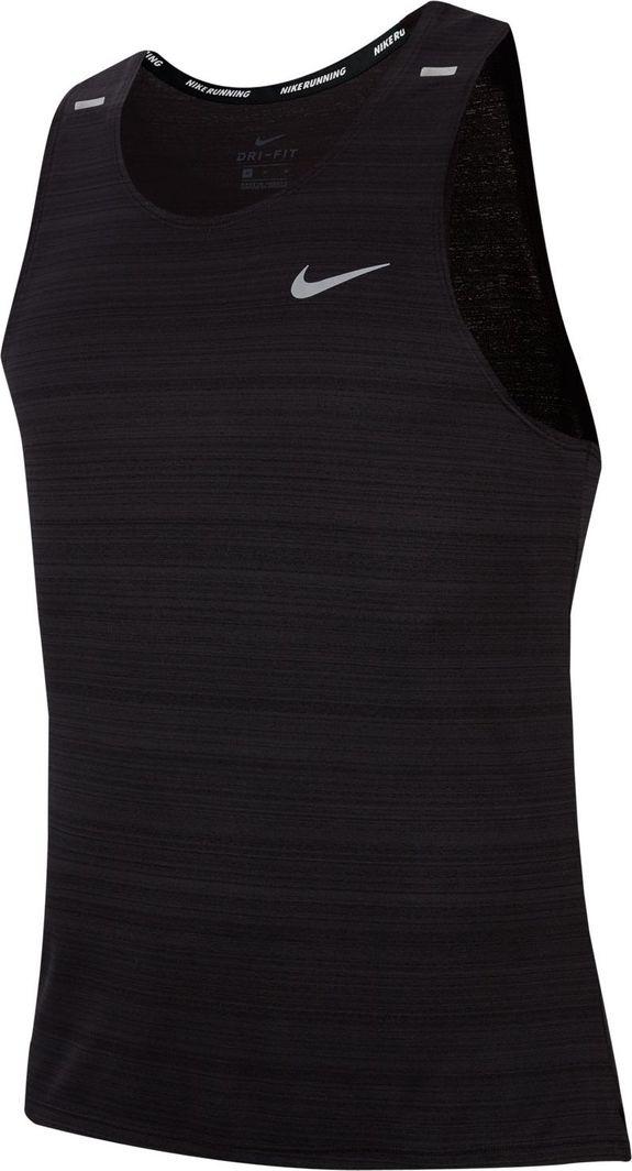 Nike Nike Dri-FIT Miler bezrękawnik 010 : Rozmiar - S 1