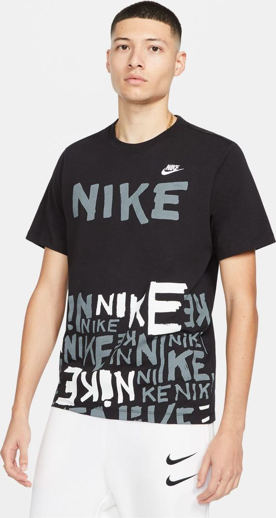 Nike Nike NSW Tee Printed t-shirt 010 : Rozmiar - M 1