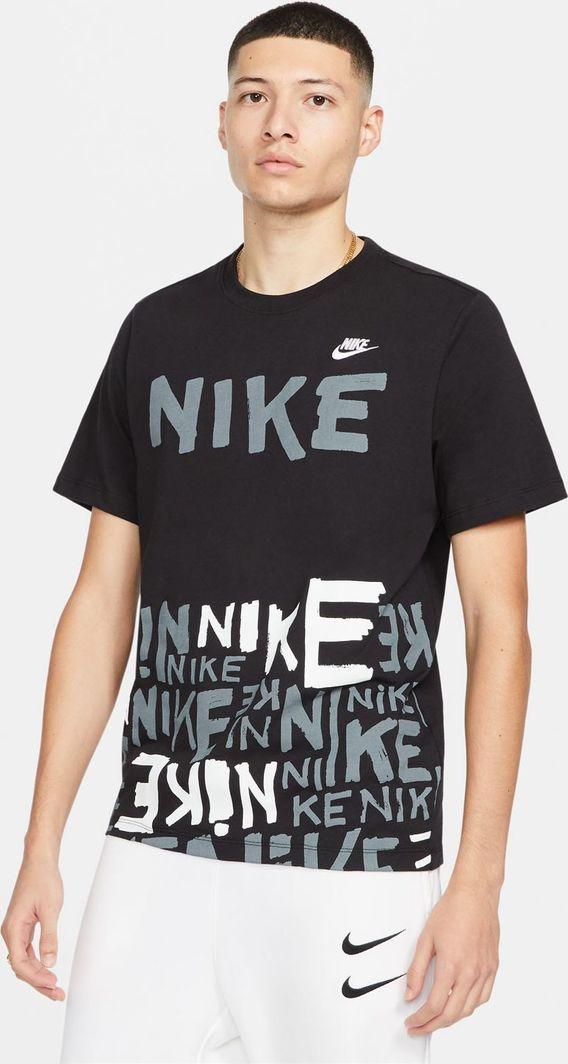 Nike Nike NSW Tee Printed t-shirt 010 : Rozmiar - L 1
