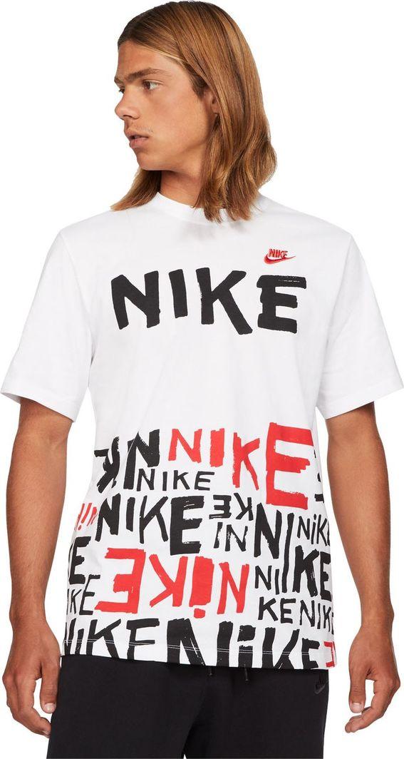Nike Nike NSW Tee Printed t-shirt 100 : Rozmiar - M 1