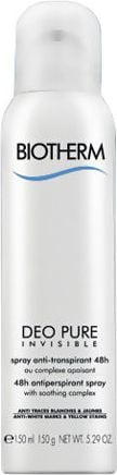 Biotherm Deo Pure Invisible 48h Antiperspirant Spray 150ml 1