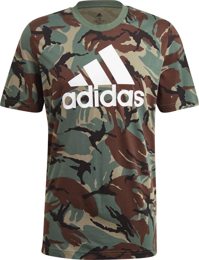 Adidas adidas Essentials Camouflage t-shirt 808 : Rozmiar - S 1