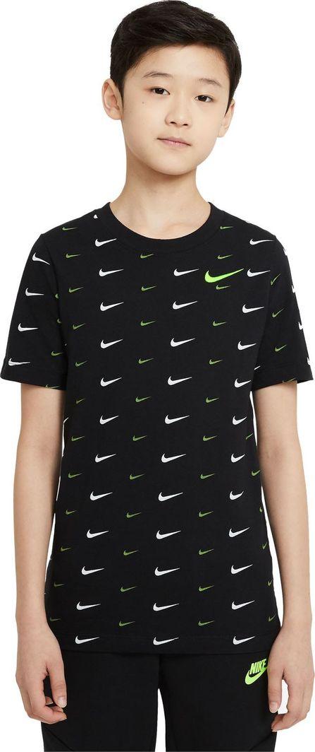 Nike Nike JR NSW Tee Swoosh t-shirt 010 : Rozmiar - L ( 147 - 158 ) 1