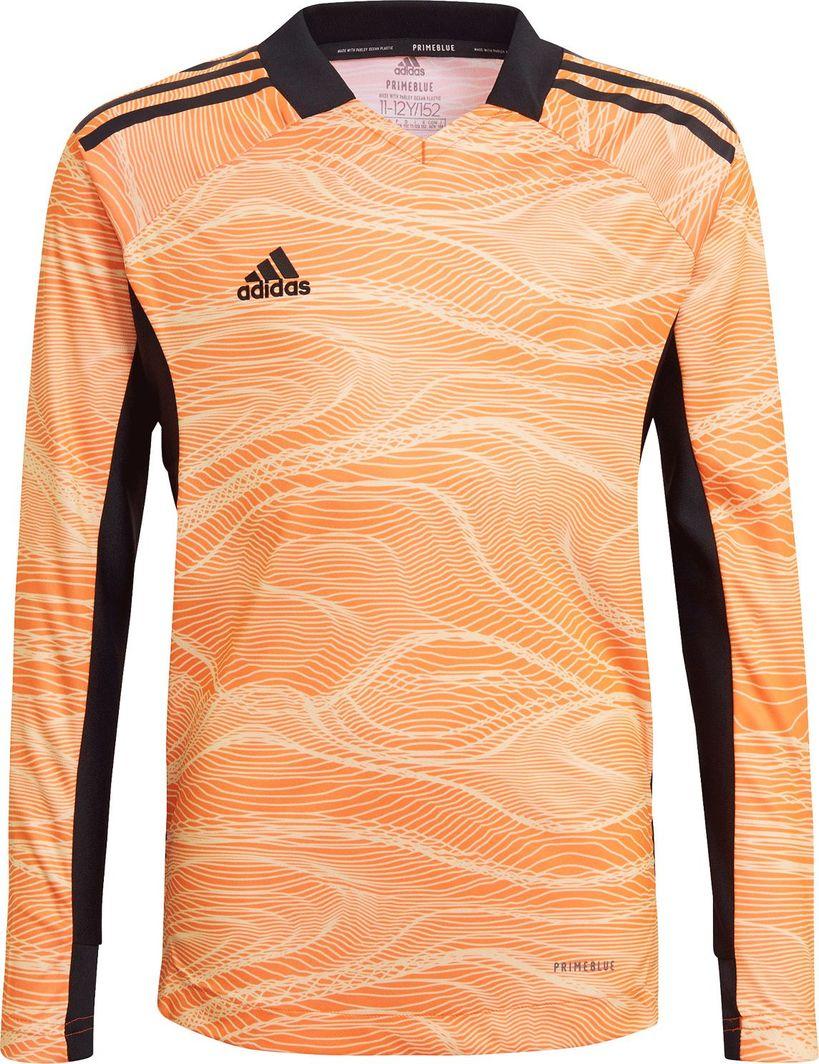 Adidas adidas JR Condivo 21 Goalkeeper Jersey dł. rękaw 709 : Rozmiar - 176 cm 1