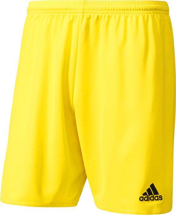 Adidas adidas Parma 16 Short żółte 885 : Rozmiar - M 1