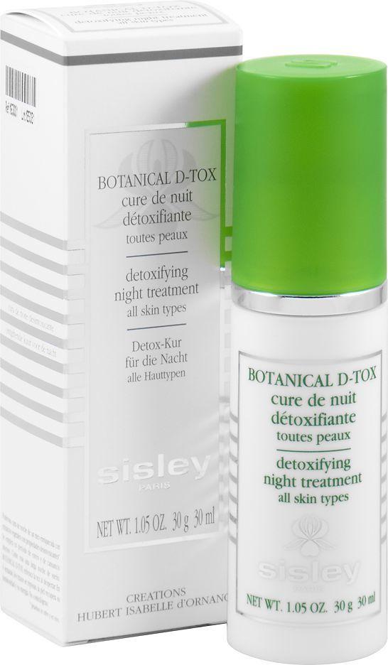 Sisley Botanical D-tox Kuracja Na Noc O Działaniu Detoksykującym, 30ml 1
