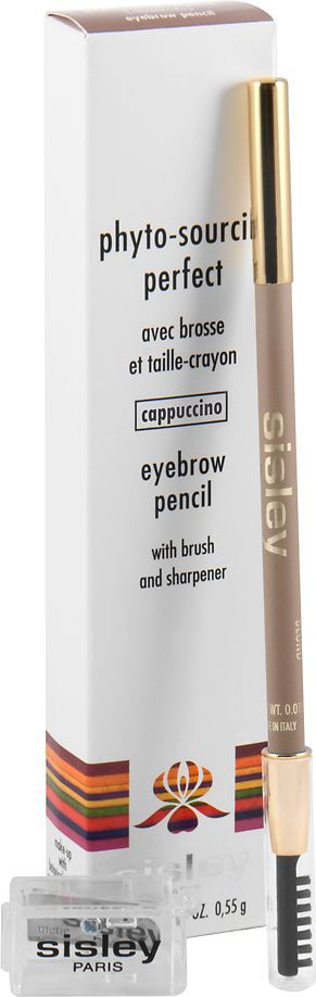 Sisley PHYTO - SOURCILS PERFECT EYEBROW PENCIL WITH BRUSH AND SHARPENER CAPPUCCINO 0,55G 1
