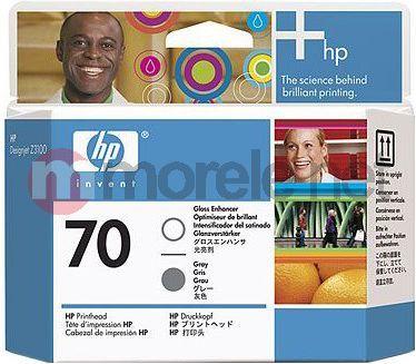 HP 70 Gloss Enhancer and Grey Printhead C9410A 1