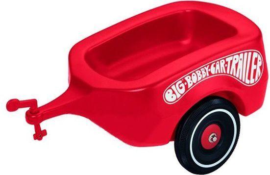 Big Bobby-Car Przyczepa czerwona 800001300 1