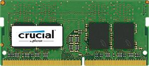 Pamięć do laptopa Crucial SODIMM, DDR4, 16 GB, 2400 MHz, CL17 (CT16G4SFD824A) 1