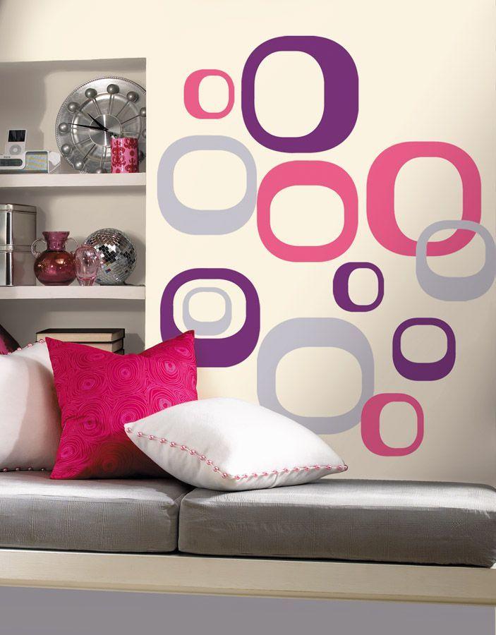 RoomMates Nowoczesne formy - naklejki wielokrotnego użytku RMK1343GM 1