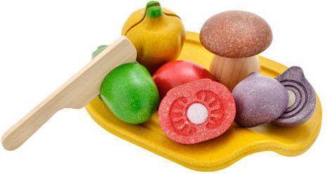 Plan Toys Drewniane Warzywa z deską do krojenia (PLTO-3601) 1