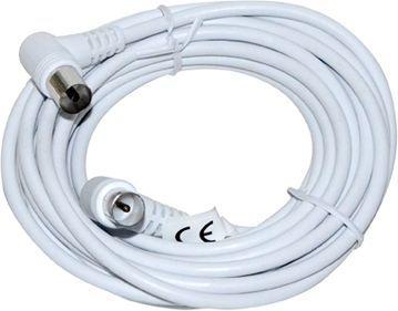 Kabel Vakoss Antenowe 5m biały (TC-A236W) 1