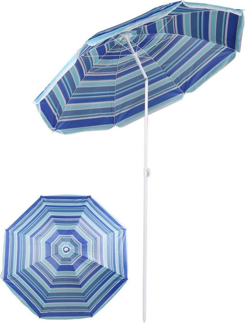 Royokamp  Parasol plażowo balkonowy niebieski 180 cm  1