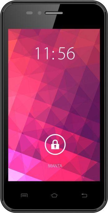 Smartfon Manta 4 GB Dual SIM Czarny  (MSP4702) 1