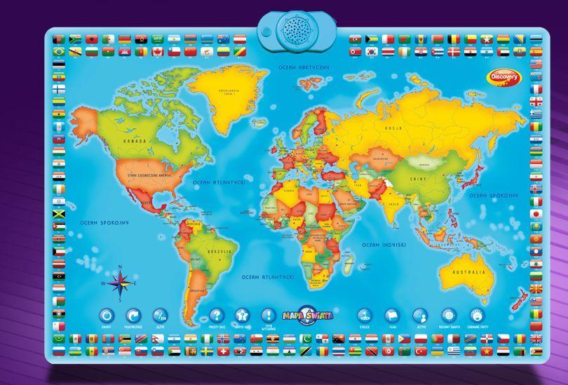 Dumel Interaktywna Mapa Świata (DD60853) 1