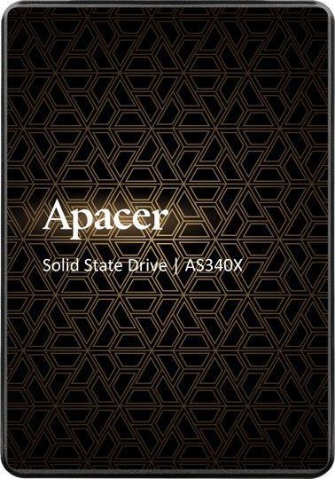 """Dysk SSD Apacer AS340X 480 GB 2.5"""" SATA III (AP480GAS340XC-1) 1"""
