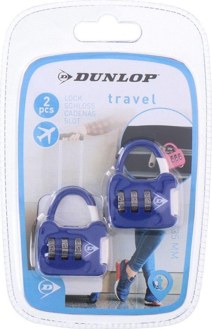 Dunlop Zestaw kłódek bagażowych na szyfr  1