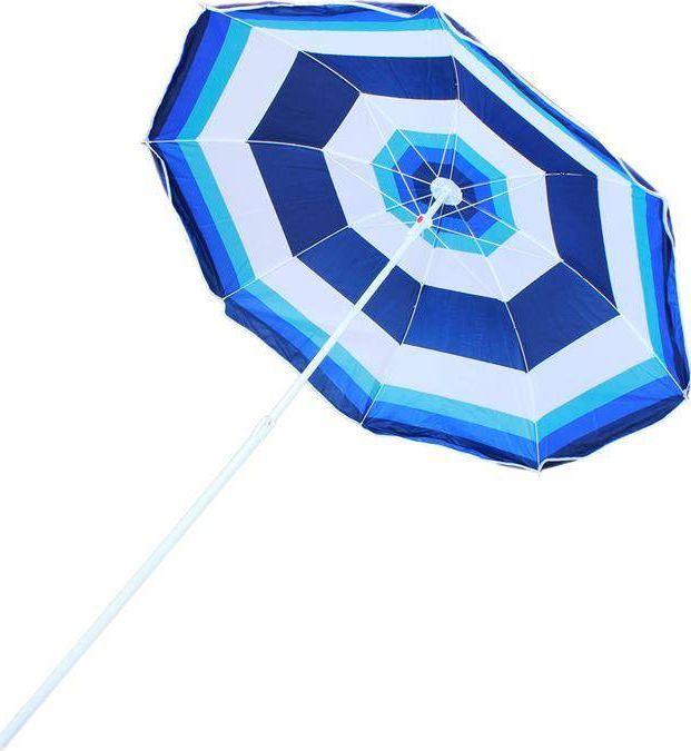 Apte Parasol plażowy niebieski 170 cm 1