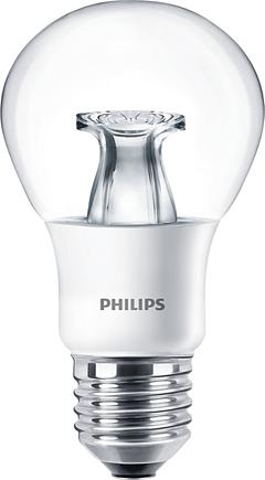 Philips Master LEDbulb 6W E27 przyciemnialna przeźroczysta (48128800) 1