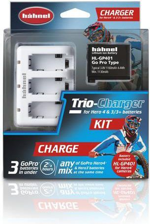 Hahnel TRIO CHARGER KIT (HŁ TRIO CHARGER KIT) 1