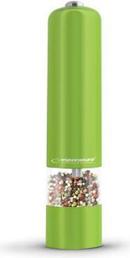 Młynek do przypraw Esperanza do pieprzu Malabara zielony (EKP001G) 1