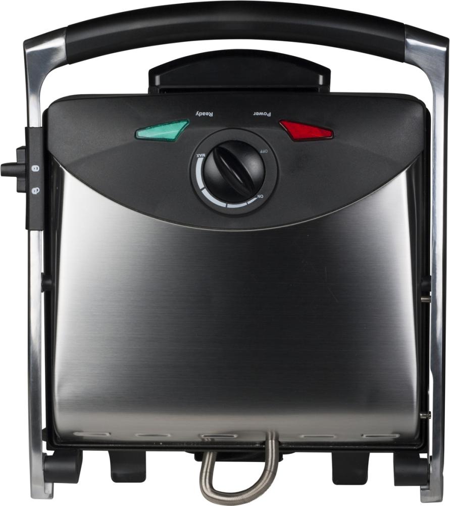 Grill elektryczny Tristar 2000W Stołowy-zamykany czarno-srebrny (GR-2848) 1