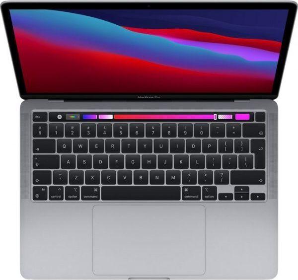 "Laptop Apple Apple MacBook Pro Retina with Touch Bar Space Gray, 13.3 "", IPS, 2560 x 1600, Apple M1, 8 GB, SSD 256 GB, Apple M1 8-core GPU, W 1"