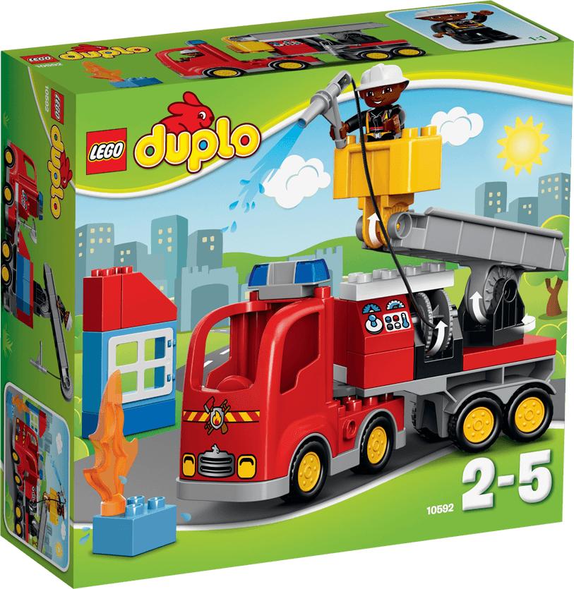 LEGO Duplo Wóz strażacki (10592) 1