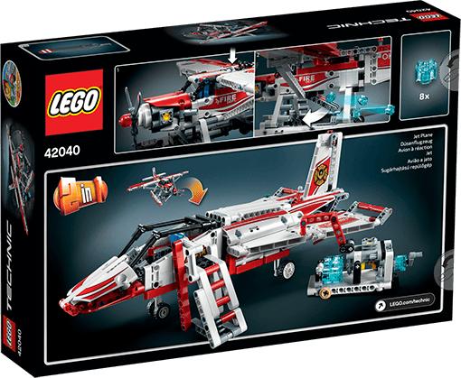 Lego Technic Samolot Strażacki 42040 W Hulahoppl