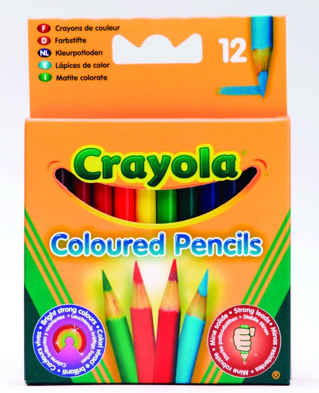 Crayola Kredki Ołówkowe 12 szt 4112 1