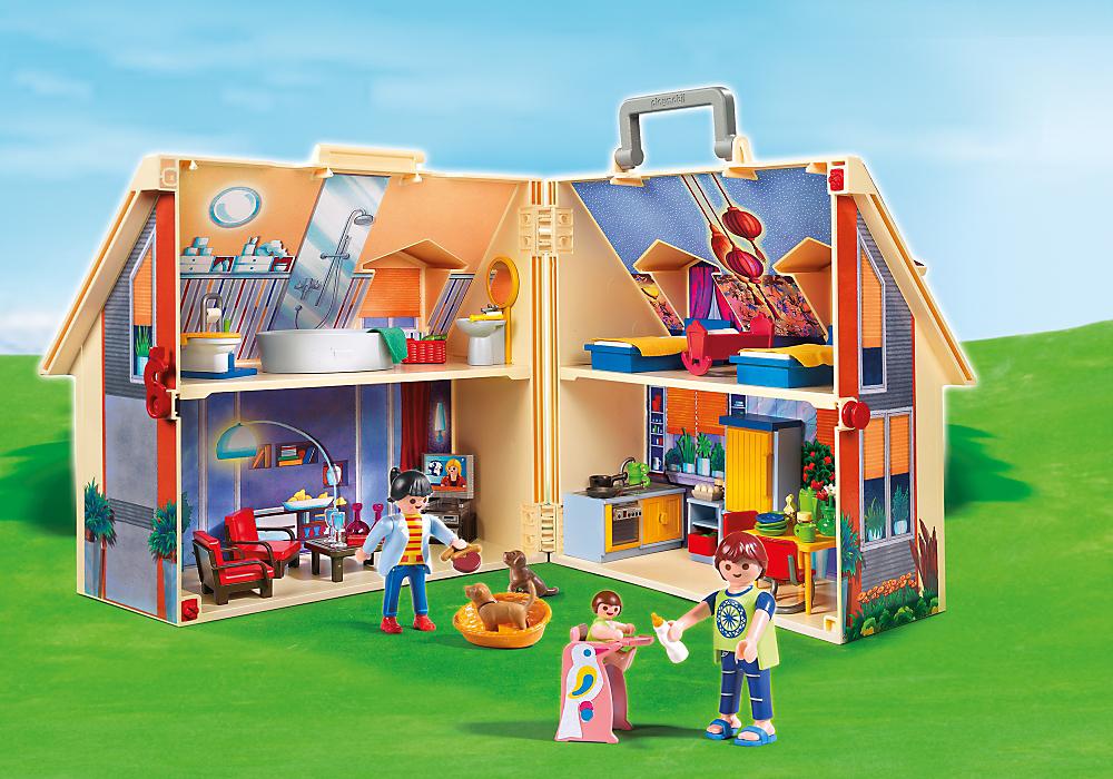 Playmobil Nowoczesny przenośny domek (5167) 1