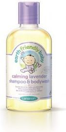 Earth Friendly Products Organiczny szampon i płyn do mycia 2w1 o zapachu lawendy, 250ml (LAN81105) 1