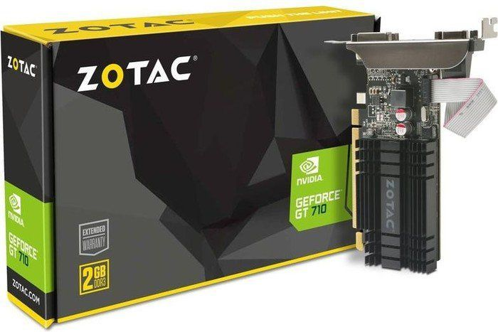 Karta graficzna Zotac GeForce GT 710 Zone 2GB DDR3 (ZT-71302-20L) 1