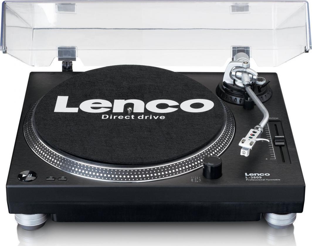 Gramofon Lenco L-3809BK 1