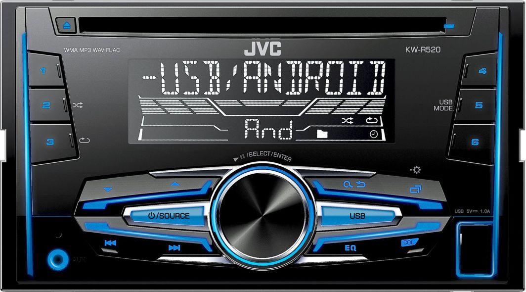 Radio samochodowe JVC KW-R520 1