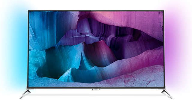Telewizor Philips LED 4K (Ultra HD) Android Ambilight 1